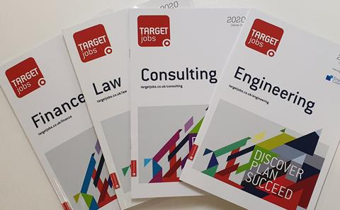 The front cover of our TARGETjobs Publications