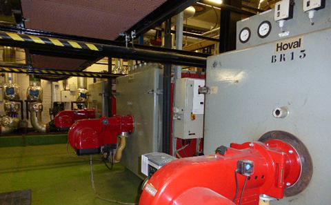 Energy Centre High Efficiency Burners