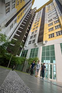 Exterior View, EduCity's Student Village, Malaysia
