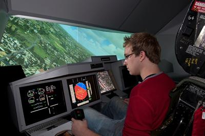 Test piloting designs in our flight simulator