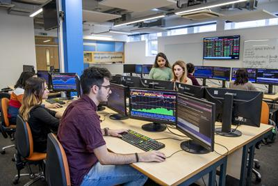 Recent investments include the Bloomberg trading suite