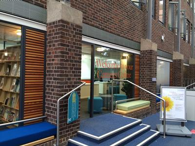 Entrance to the Careers Centre in building 37