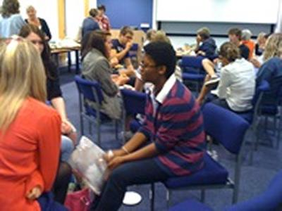 Image of the conference for Sixth Form students