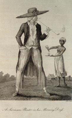 Household Slave & European Planter