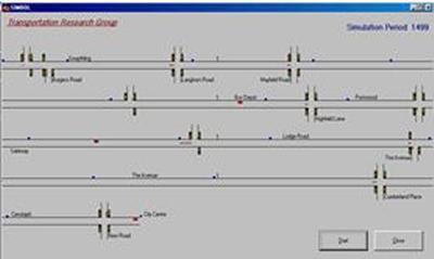 Bus priority simulation model - SIMBOL