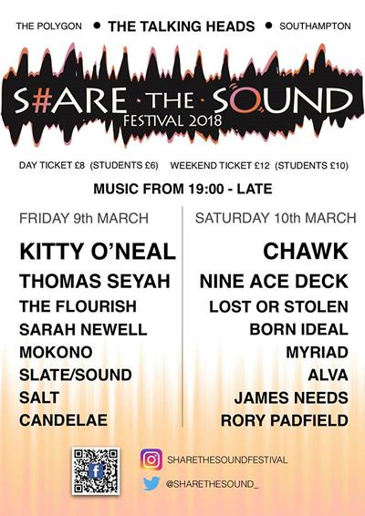 Full details of Share the Sound 2018