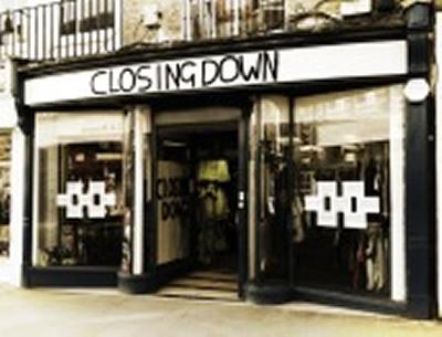 Shop closing down image