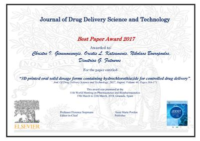 Most outstanding JDDST research article in 2017