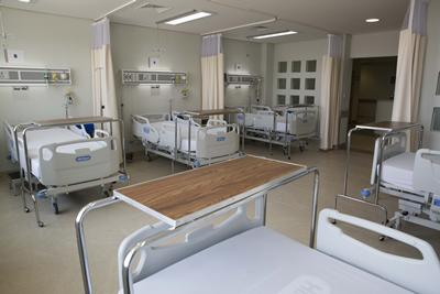 Image of a hospital ward