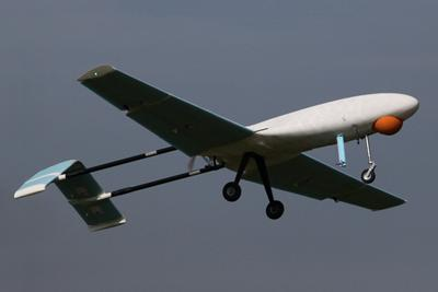 Large camera carrying UAV