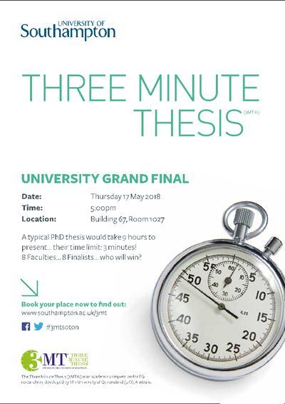 Southampton phd thesis