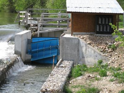 Experimental hydropower facility River Iskar, Bulgaria