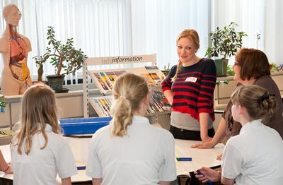 secondary level pupils meet a Southampton researcher