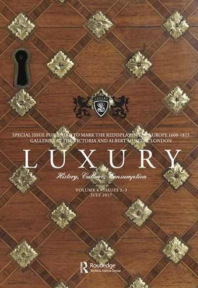 Cover of Luxury journal