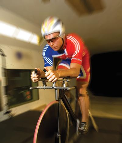 Testing in R. J. Mitchell wind tunnel