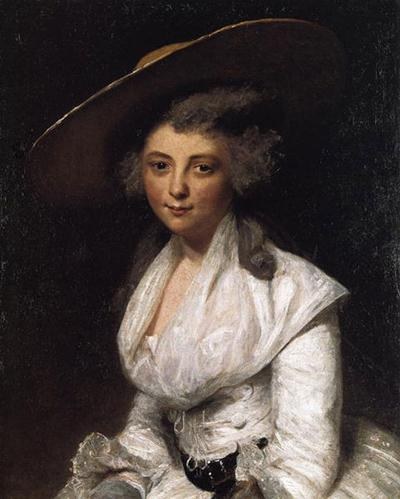 Painted by Sir Joshua Reynolds in 1786