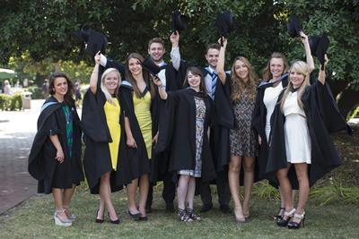 Bioscience graduates from University of Southampton