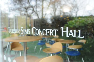 Turner Sims, among the best purpose-built recital halls in southern England, is located on campus and provides a centre for student musical activity.