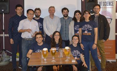 Professor Rob Eason and his team