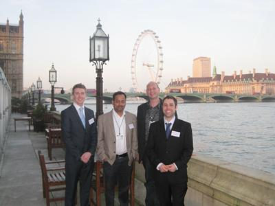 David Xuereb, Robert Raja, Dan Singleton and Dominic Wales