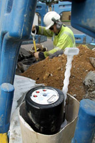 Economists examined water consumption of consumers using water meters