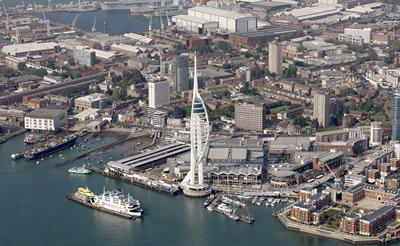Portsmouth harbour — one of the ancient parts of the city