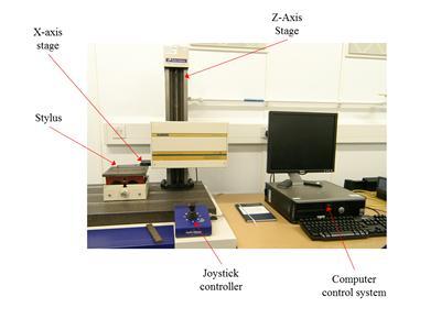 Taylor-Hobson 120L surface profilometer