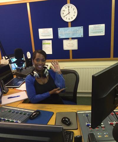 Veronica works for award winning community radio station Unity 101