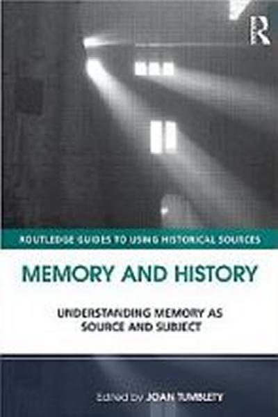 Cover image - Memory and History