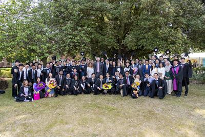 2019 Graduates from our campus in Malaysia