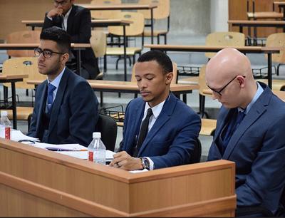 Dillan Madhani, Boykin Smith and George Laidlaw