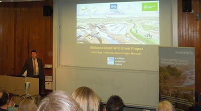 RSPB Chris Tyas, Wallasea Island Seminar