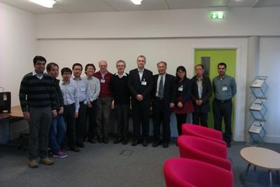 From Left to right: Ashwin T Rajan, Hua Fan, Chuan-ke Zhang, Lin Jiang, Yongmann M. Chung, David Stone, David infield, Andy Cruden, Xinping Qiu, Yue Wang, Fei Gao, Mahdi Kiaee