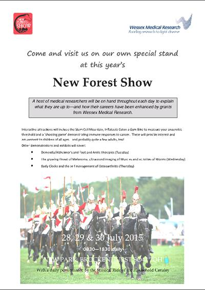 Come and visit our own special stand