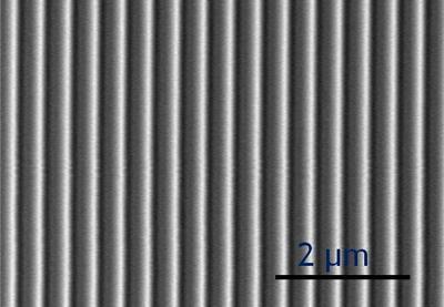 Surface pattern of metamaterial