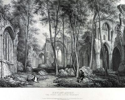 Netley Abbey Chapel and South Transcept