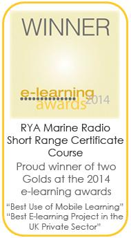 An Award Winning Course from the RYA