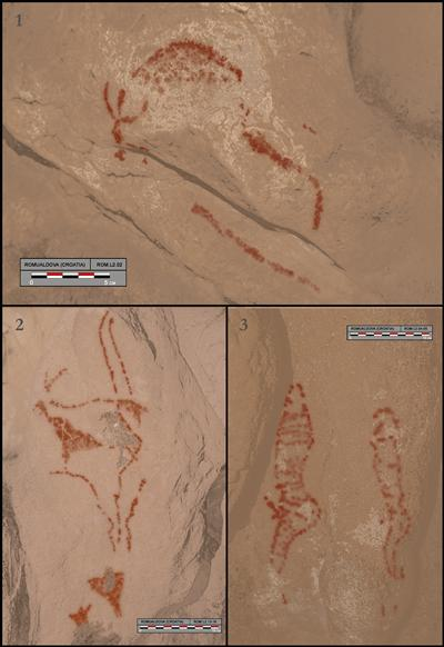 Digital tracings of rock art