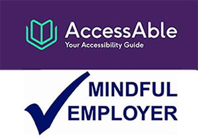Access Able and Mindful Employer logo