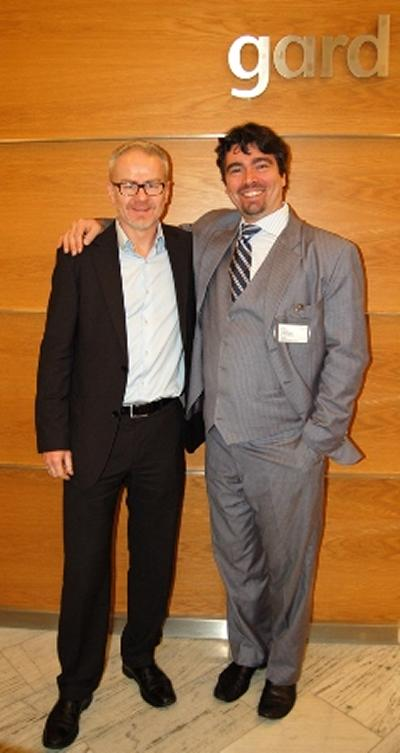 Jens Nilsen (Gard) and Filippo Lorenzon (IML Director)