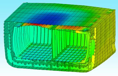 FEA of hull structure