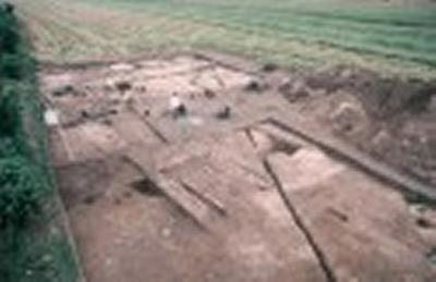 Aerial photography identified the site in East Yorkshire