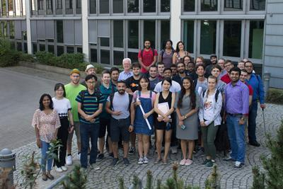 Attendees of the WST Summer School 2018