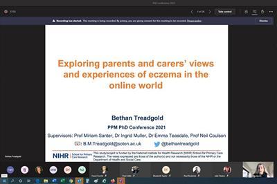 Bethan Treadgold presentation