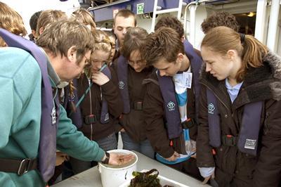 School visits aboard Callista