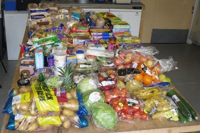 Supermarket food waste used in the trial