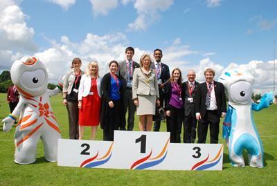 Helping to organise the Olympic road cycling event in Surrey County Council.