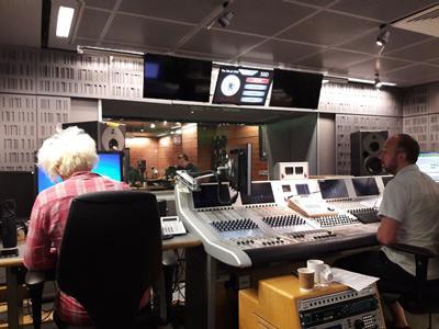 The BBC studios