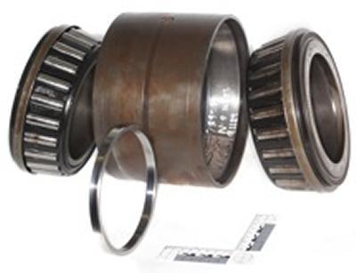 Rail axle bearing research