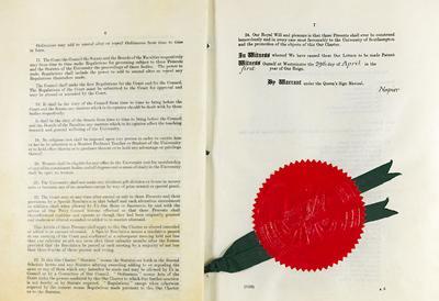 The University's Royal Charter